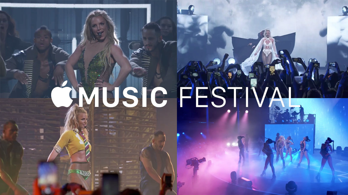 [DOWNLOAD TS HD 1080P + AVI HD 720P]Britney Spears @ Apple Music Festival 2016