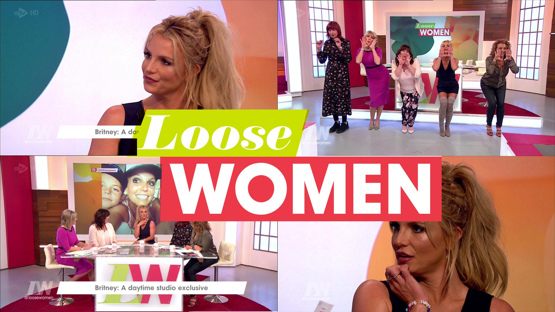 [D/L TS HD 1080P]Britney @ Loose Women UK