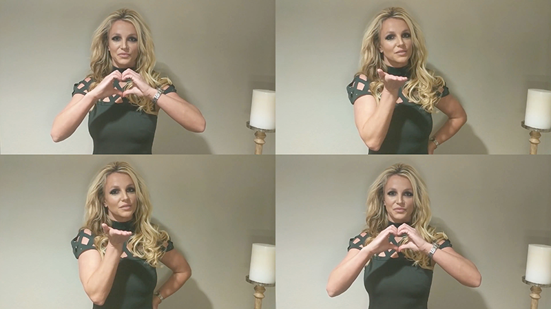 Britney spears special videoclip 4