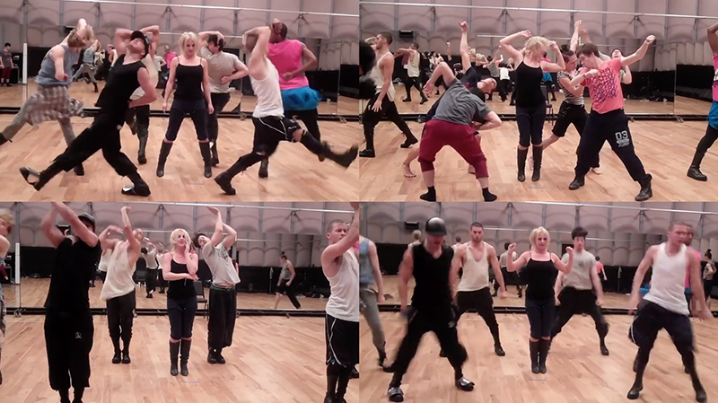 [STREAM + DOWNLOAD]Hold It Against Me (Rehearsal Snippet 3 – Breakdown)