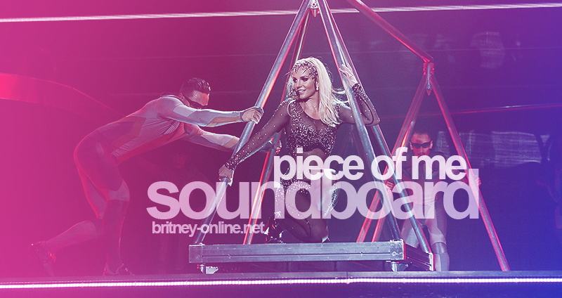 [STREAM + DOWNLOAD]3 + Freakshow (Britney: Piece of Me Official Soundboard Audio)