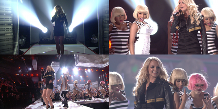 [STREAM + DOWNLOAD HD 720P 60FPS]Till The World Ends (Remix) @ Billboard Music Awards 2011