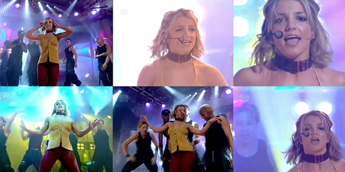 [STREAM + DOWNLOAD HD 1080P]Oops!… I Did It Again + Born To Make You Happy @ Pepsi Chart UK