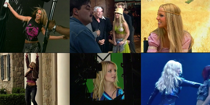[MEGAPOST]Britney Spears On Set & Behind the Scenes (Press Footage)